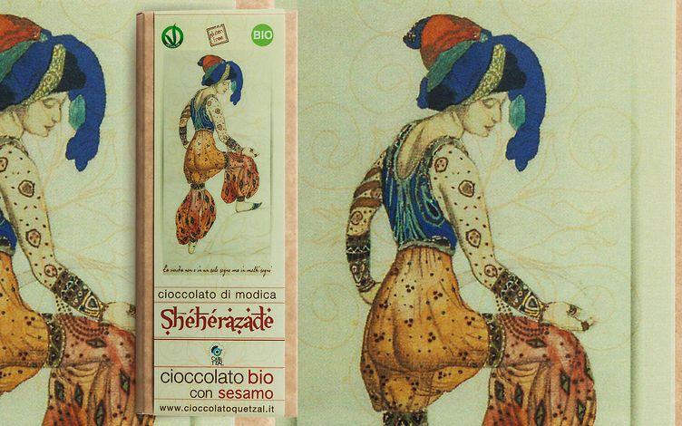 Cioccolato di modica al Sesamo