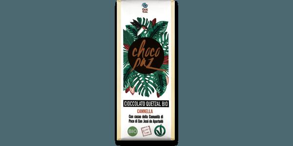 ChocoPaz con cannella 70% cacao