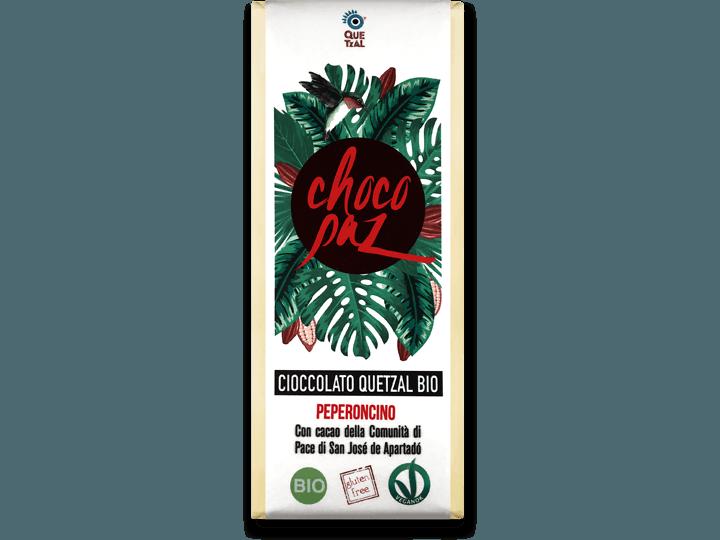 ChocoPaz con peperoncino 70% cacao