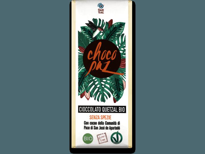 ChocoPaz senza spezie 70% cacao
