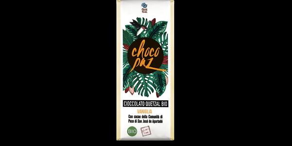 ChocoPaz con vaniglia 70% di cacao