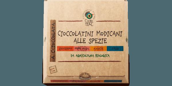 Cioccolatini di Modica biologici alle spezie
