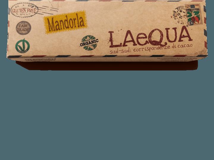 Cioccolato di Modica alle mandorle (18 %) bio e vegano