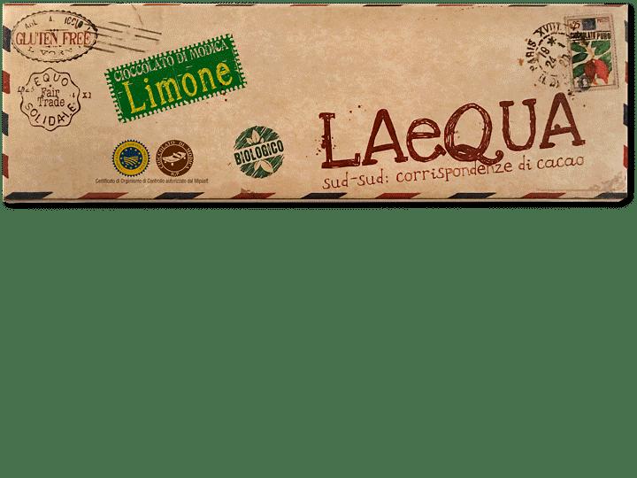 Cioccolato di Modica al limone bio, 60 gr
