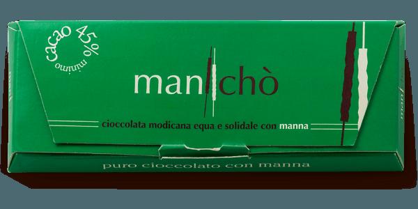 Cioccolato di Modica con manna delle Madonie, 50 gr