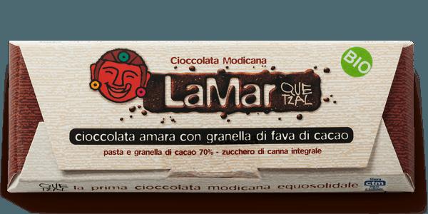 Cioccolato di Modica naturale al 70% bio LaMar